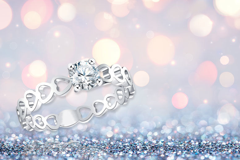 Crystal 'Ring of Love' for £7.00