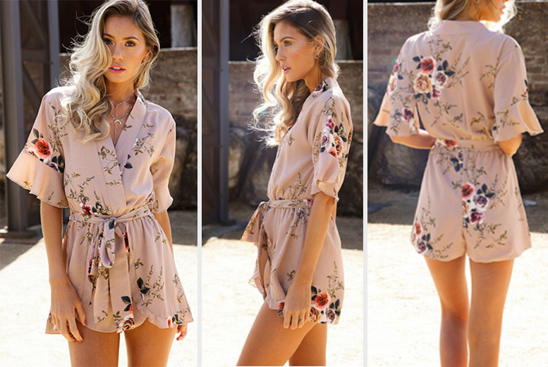 Floral Printed Jumpsuit for £9.00