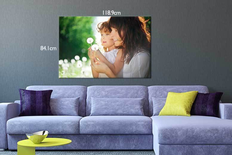 Monster A0 Personalised Canvas for £16.99