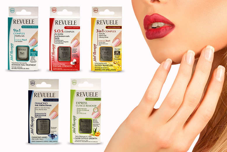 Revuele Nail Therapy Polish - 5 Types!