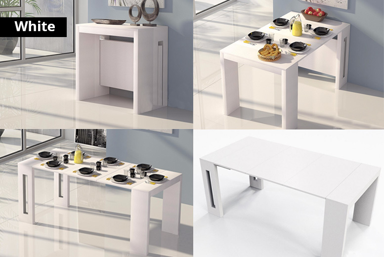 Roma Extending Dining Table – 3 Sizes & 2 Colours! from £429.00