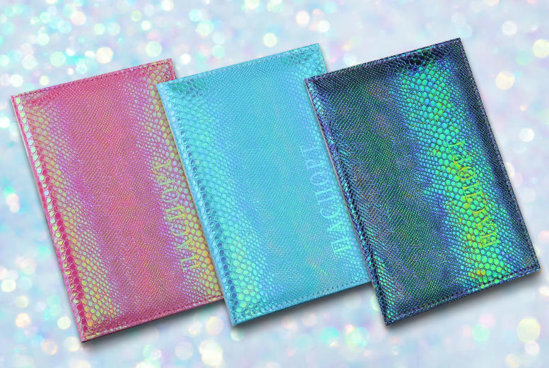 Iridescent Passport Cover for £5.99
