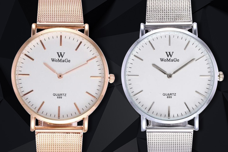 Ladies 'Olivia' Mesh Watch - 2 Designs!