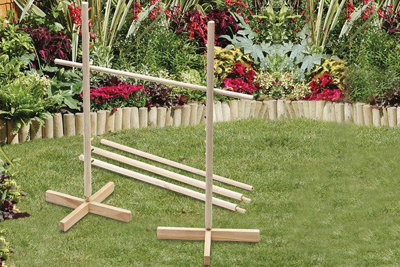 Wooden Garden Limbo Game for £9.99