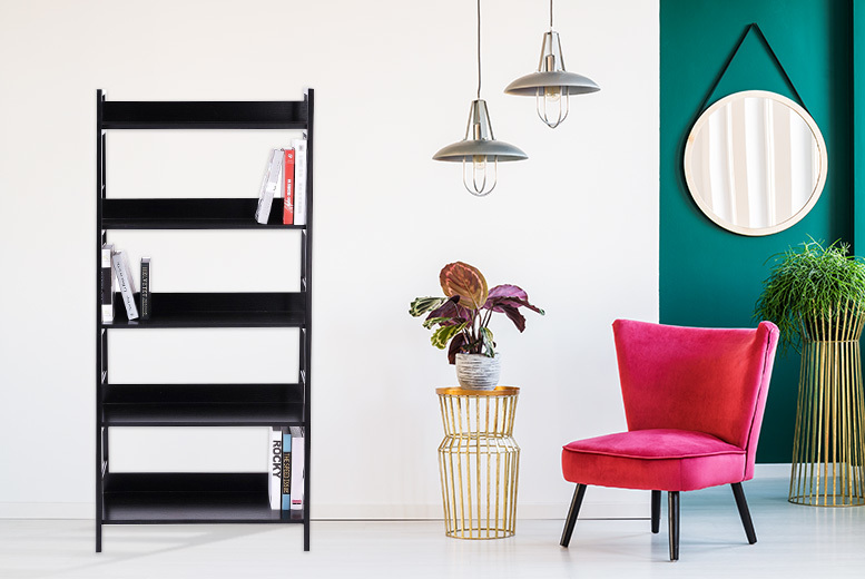 Heavy-Duty Contemporary Bookcase – 3, 4 or 5 Tiers! from £22.00