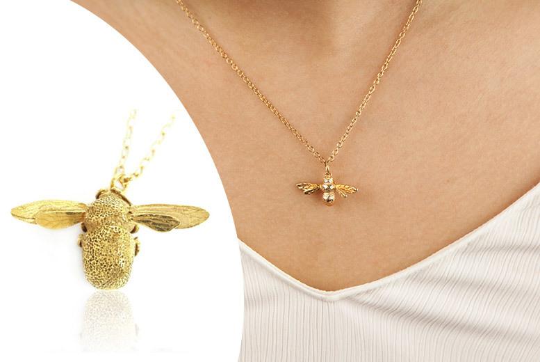 Honeybee Pendant Necklace