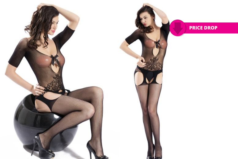 All-in-One Suspender Bodystocking for £6.99