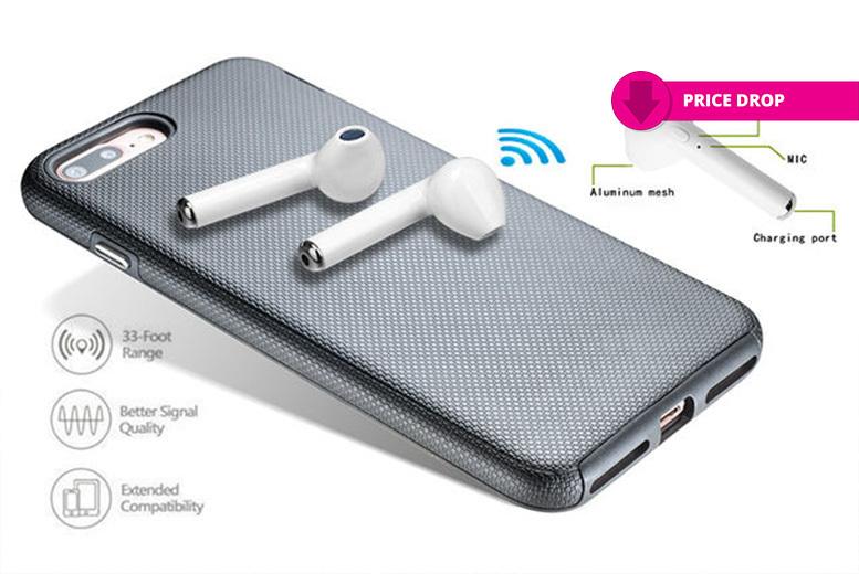 Apple-Compatible Wireless Earphones for £14.00