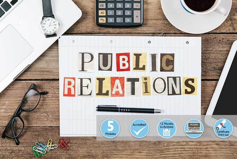 Public Relations Course for £18.00