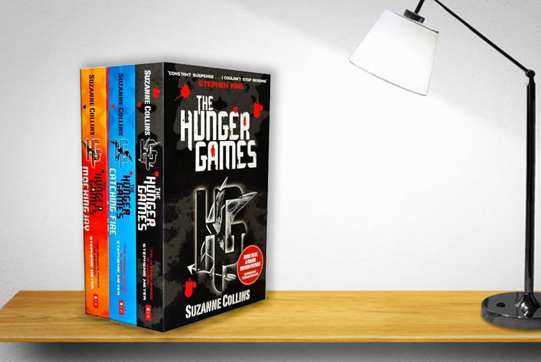 £7.99 instead of £18.97 (from at Lowplex) for a Hunger Games Trilogy book set - save 58%