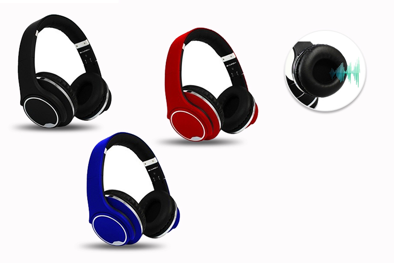 2-in-1 Twisting Bluetooth Headphones & Speaker – 3 Colours! for £29.00