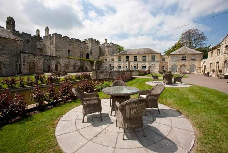 £39 instead of £89.10 for a spa day with Serail mud chamber and cream tea for two at Imagine Spa @ Hazlewood Castle, Tadcaster - save 56%
