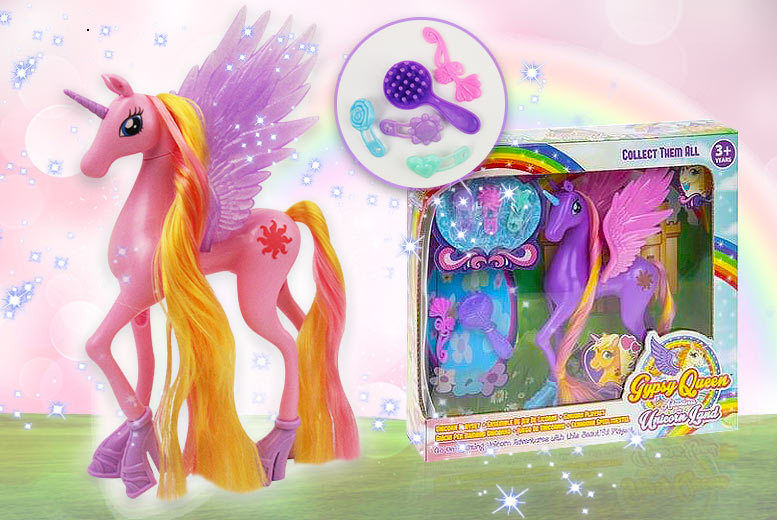 Unicorn Toy & Accessories - 4 Colours!
