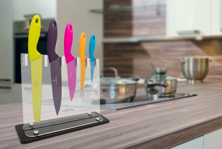 Viners Carnaby Knife Block Set