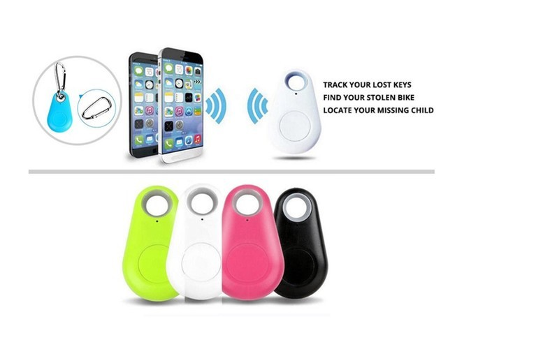 1, 2 or 4 Bluetooth Anti-Loss Item Trackers – 4 Colours! from £3.98