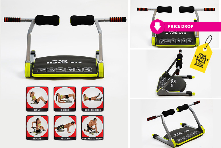 Six Pack Ab-Core Home Gym Exercise Machine for £26.00