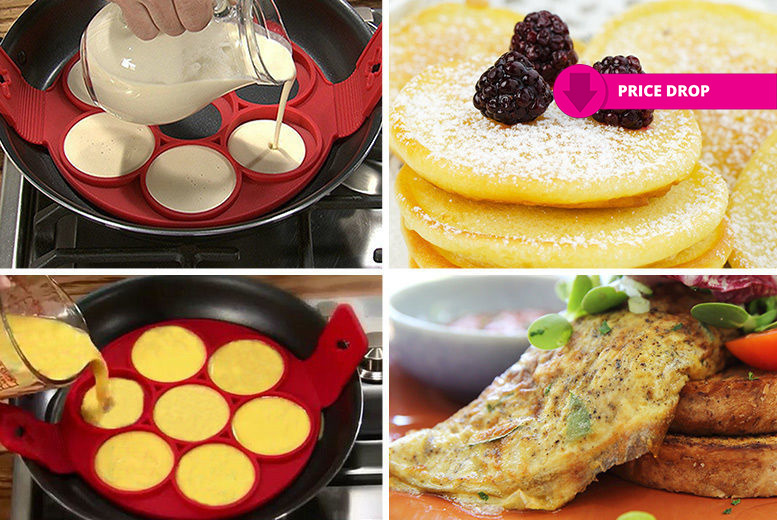 2-in-1 Easy Pancake & Egg Maker for £5.99