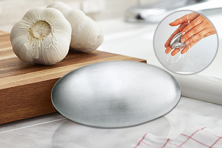 Smell-A-Way Stainless Steel Soap Bar for £2.99