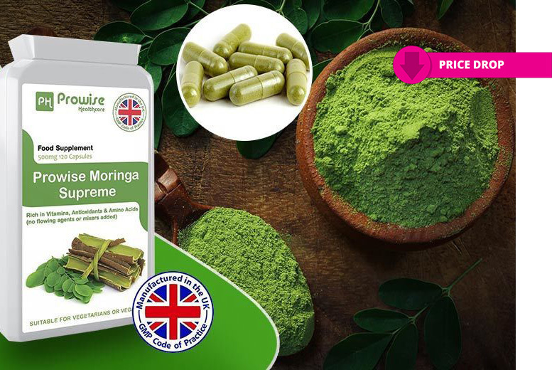 2mth Supply* of Moringa Supreme Capsules