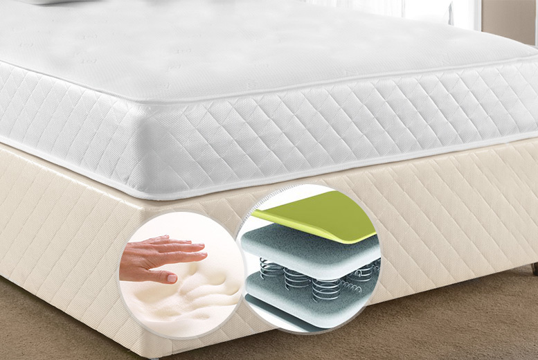 Luxury CoolTouch Memory Foam & Pocket Spring Mattress