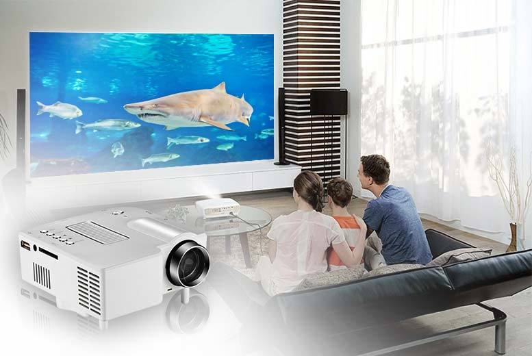 £29.99 instead of £119.99 (from Insta-gadget) for a portable HD LED cinema projector - save 75%