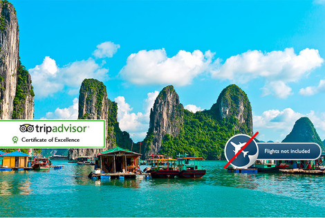 From £599pp (from Hoi An Express) for a 14-day Vietnam and Cambodia tour in 3* accommodation, from £779pp in 4* or from £1109pp in 5* - save up to 43%