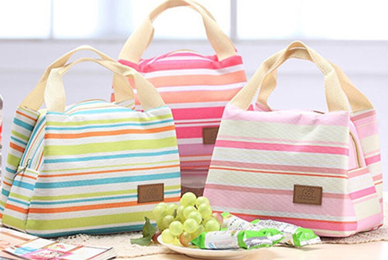£3.99 instead of £14.99 (from Shop Sharks) for a cooler lunch tote bag – choose from five colours and save 73%