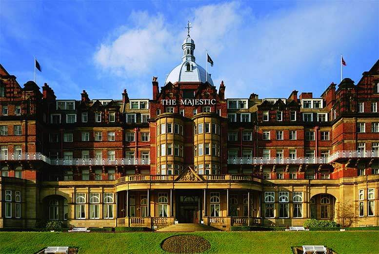 From £129 (at The Majestic Hotel) for an overnight stay for two people with dinner and breakfast, from £199 for a 2nt stay with afternoon tea - save up to 43%