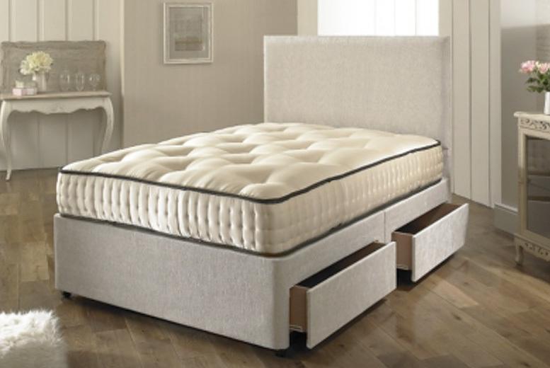 Dreyton Divan Bed Set – Drawer Options! from £129.00