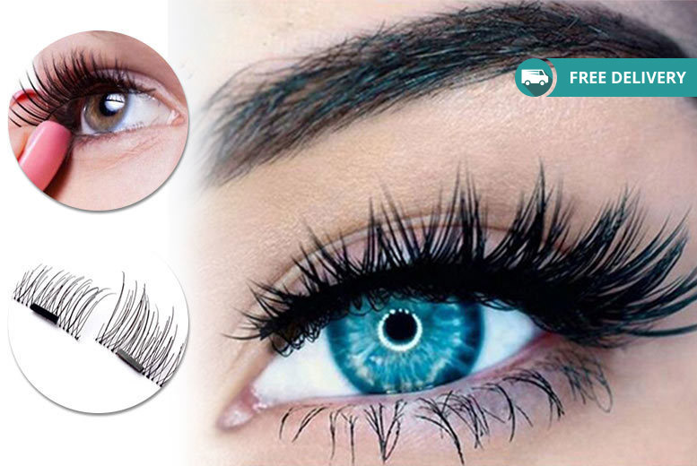 8 Magnetic Eyelash Extensions for £7.99