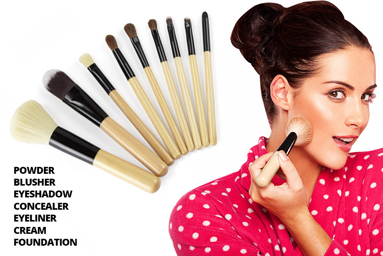 9pc Make Up Brush Set for £4.50