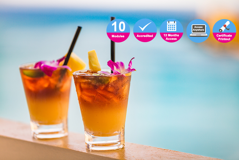 Accredited Cocktail Training & Menu Creation Course for £14.00