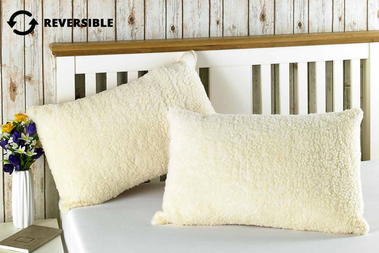 1, 2, or 4 Reversible All-Season Pillows