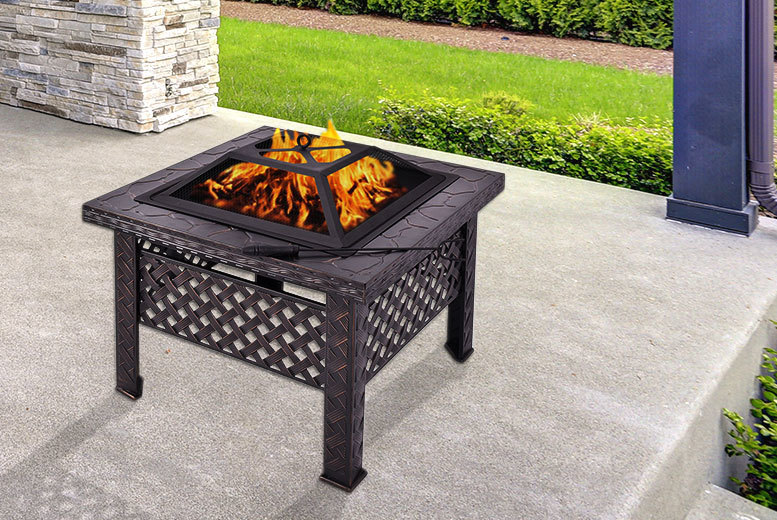 Outdoor Fire-Pit Patio Heater for £44.00