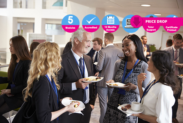 Accredited Networking Events Course for £9.00