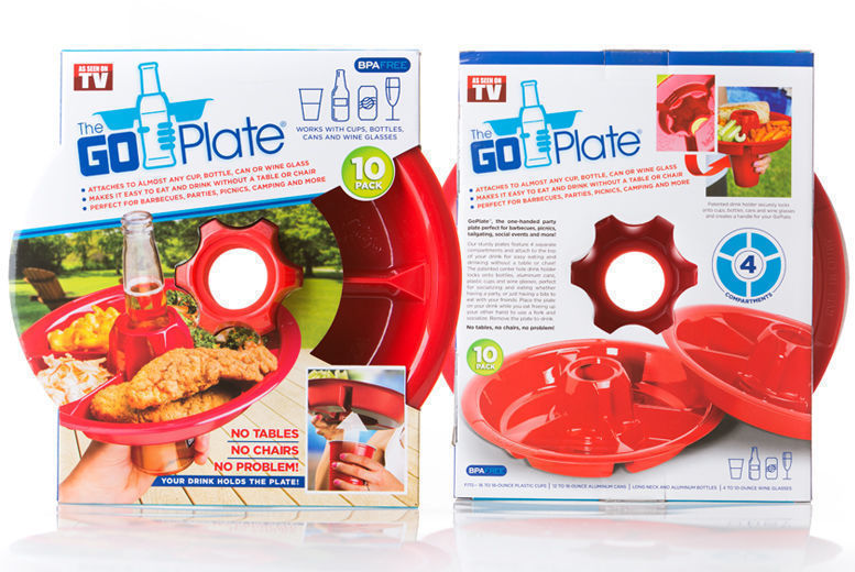10pk Party Go-Plates for £5.99