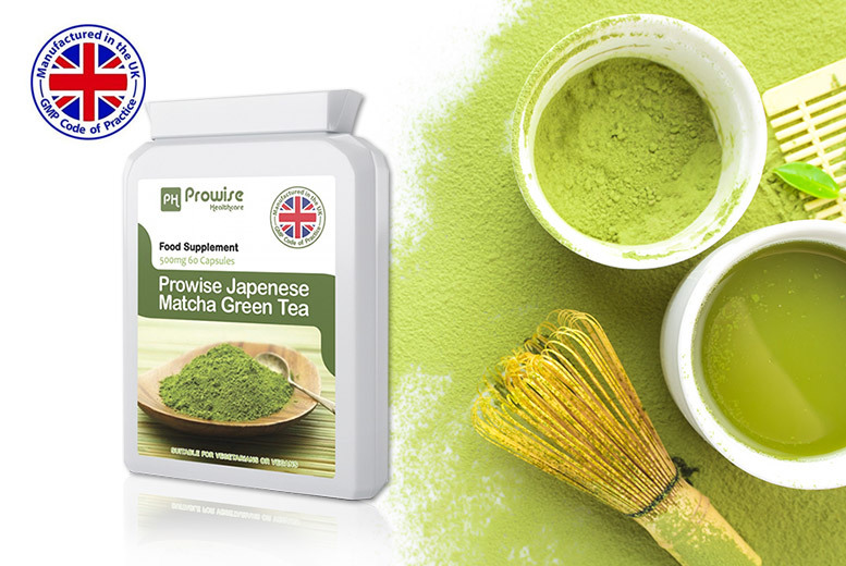 1mnth Japanese Matcha Green Tea Capsules for £9.00