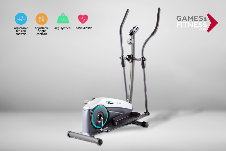 Velocity Elliptical Cross Trainer Exercise Machine – 2 Models! from £99.00