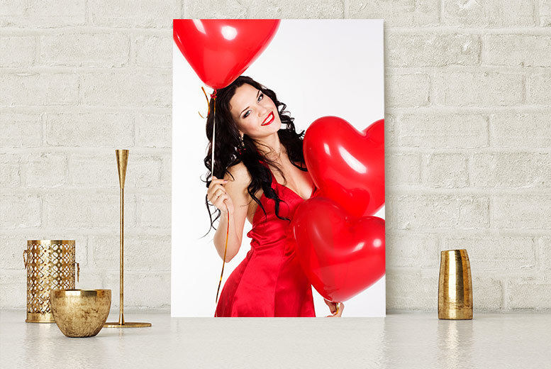 Personalised A4 Canvas for £2.99