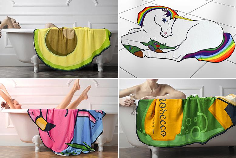 Ultra-Soft Novelty Bath Mat – 10 Designs! from £13.99