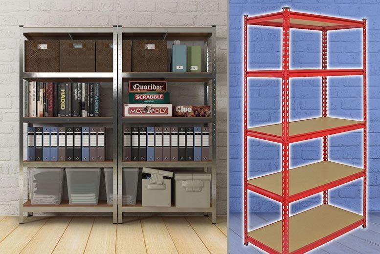 5 tier shelf z rax racking