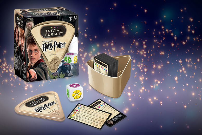 £6.99 (from Linen Ideas) for Harry Potter Trivial Pursuit - show off your wonderful wizarding knowledge and save 65%
