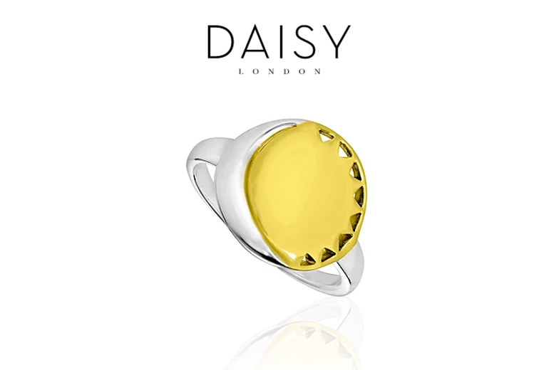 Daisy London Sun & Moon Ring – 3 Sizes! for £25.00