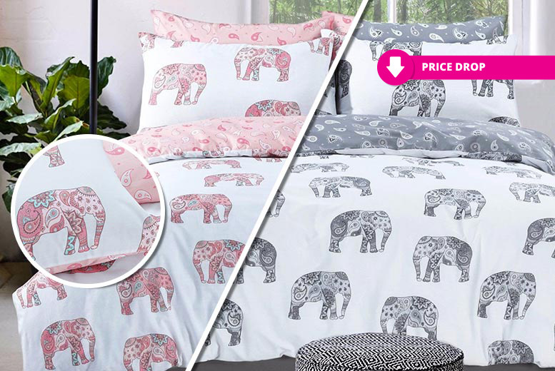 Unicorn, Cat or Elephant Duvet Sets - 5 Designs & 3 Sizes!