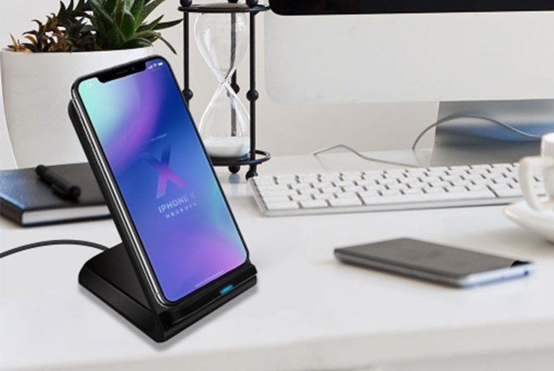 Fast Wireless Charging Stand for £9.99