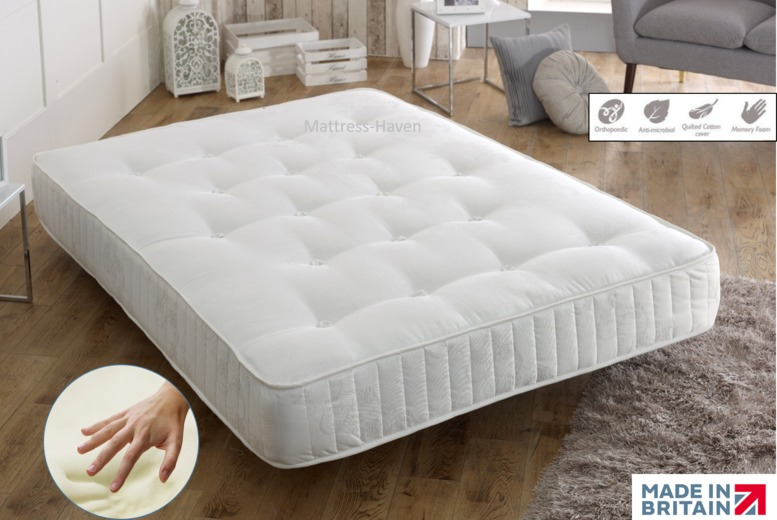 Vertigo Sprung Deluxe Cool-Touch Memory Mattress