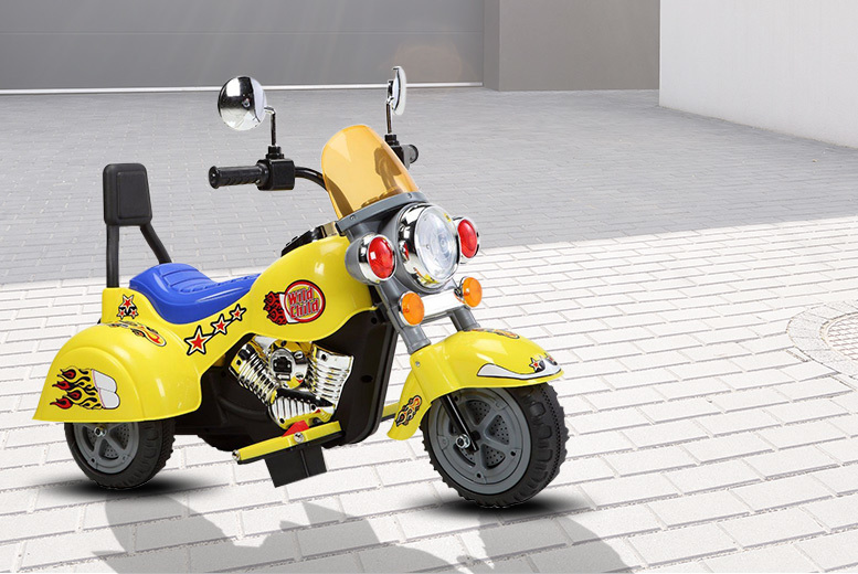 Kids Ride-On Mini Motorbike – 3 Colours! for £59.99