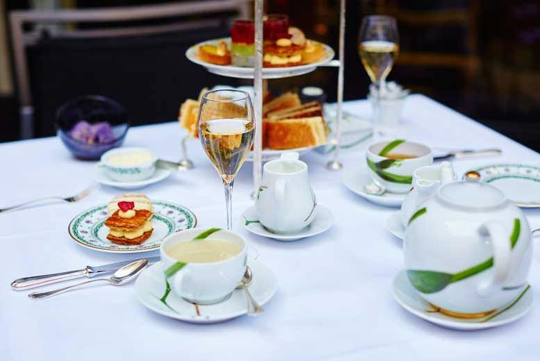 £20 instead of £78 for a traditional afternoon tea for two people, or £25 for a sparkling afternoon tea at The Colonnade Hotel, Maida Vale - save up to 74%