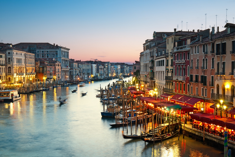 From £79pp instead of up to £137.76pp (from ClearSky Holidays) for a two-night 4* Venice break with flights - choose from eight airports and save up to 43%