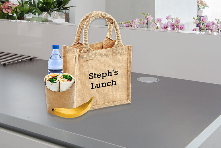 Personalised Lunch Bag for £4.99